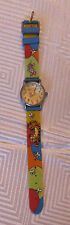 Winnie the Pooh Walt Disney Colorful Rubber Banded Watch MC0031 Tigger Piglet