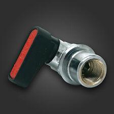 "HEL PERFORMANCE Hydraulic Brake Line Lock & Shut Off Valve 1/8"" NPT DISCREET"