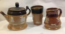 Antique Royal Doulton stoneware miniatures