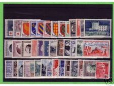 TIMBRES FRANCE NEUFS ANNEE COMPLETE LUXE 1954