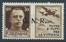 1944 RSI PROPAGANDA DI GUERRA 30 CENT VERONA MNH ** - RR13730
