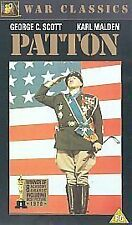 Patton - George C. Scott - Karl Malden - Excellent Condition VHS 1505/1