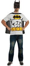 LICENSED BATMAN T-SHIRT MASK AND CAPE ADULT X-LARGE