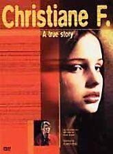 CHRISTIANE F. DVD 70S BERLIN GERMANY DAVID BOWIE
