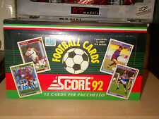 1992 SCORE SOCCER (FOOTBALL) CARDS SERIE A & B SEALED BOX 24 PACKS OF 15 CARDS