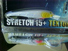Mann's Textured Stretch 15+ BIGFISH Cast/Trolling Lure T15-84H - GREY GHOST HOLO