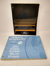 2010 Ford Fusion Milan Hybrids Oem Powertrain Emissions, Wiring Diagrams Manuals
