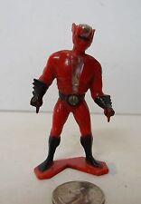 Vintage Tootsietoy Capt. Lazer Action Figure Plastic Toy Captain Laser 1977 !!!