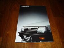 Toyota Starlet Prospekt 04/1987