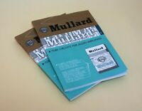 Mullard Tube Circuits for Audio Amplifier Production Guide Book Vintage Magazine