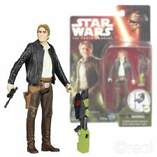 """Neuf star wars the force réveille 3.75"""" han solo figurine jungle mission officielle"""