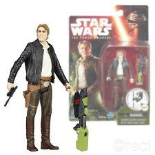 """NEW Star Wars la forza si sveglia 3.75"""" HAN SOLO Figura Jungle missione Ufficiale"""