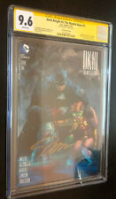 DARK KNIGHT III MASTER RACE #1 -- Jim Lee Variant -- CGC SS 9.6 -- SIGNED Lee
