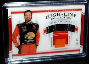 Panini National Treasures Nascar Racing Card MARTIN TRUEX JR High-Line #22/25