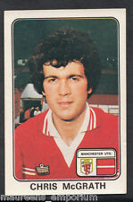 (ZZ) - Panini 1979 Football Sticker No 243 - Manchester United - Chris McGrath