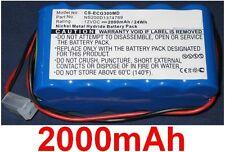 Batterie 2000mAh Pour Contec ECG-300G type NS200D1374789