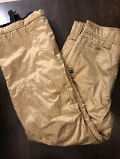 Spyder NWOT Metallic Gold Snow Ski Snowboard Pants AWESOME Youth Size 14