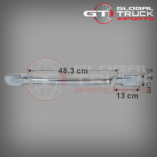 HINO PRO 500 SERIES CHROME FRONT PANEL HANDLE COVER - 2003 ONWARDS (HM03-FPHCC)