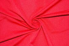 Jacquard Red #83 Nylon Lycra Spandex 4 Way Stretch Swimwear Fabric BTY