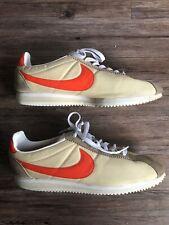 best service b5852 d6357 Nike Cortez Mens Shoes Khaki Orange White Tan Shoes Running Racer 11.5 Nylon