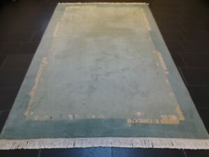Schöner Handgeknüpfter Orientteppich Nepal Tibet Tappeto Carpet 295x190cm