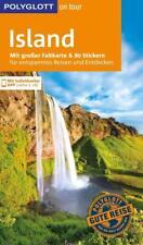 POLYGLOTT REISEFÜHRER ISLAND 2017/18+Landkarte UNGELESEN wie neu
