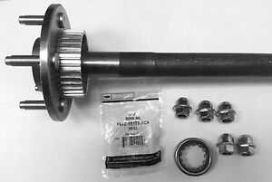 03-04 crown victoria marquis town c rear axle shaft 1 bearing & brs90 &5 lugs