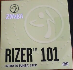 Zumba Rizer 101 DVD Intro To Zumba Step DVD - Fitness Excercise Dance Cardio