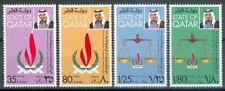 Qatar 1978 ** Mi.745/48 Menschenrechte Human Rights Waage Scales of Justice
