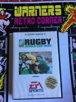 Sega Megadrive Genesis Rugby World Cup 1995 Poster Inc Game W/ Manual Boxed