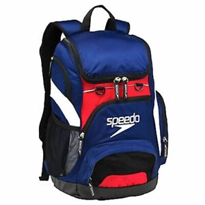 Speedo Teamster Backpack Navy / Red 35L Swim bag, Swimming Backpack