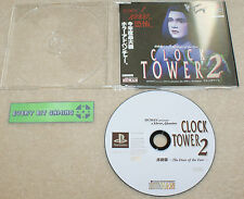 Torre del Reloj 2-Playstation-PS1-japonés Tienda demo/ensayo/Promo NTSC-J