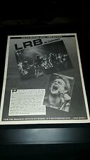Little River Band Live Rare Westwood One Concert Promo Poster Ad Framed!