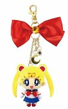 NEW Sailor Moon Mascot Plush Doll Charm with Keychain Official Japan