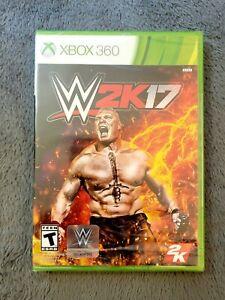 WWE 2K17 (Microsoft Xbox 360) W2K17 Brand NEW - FACTORY SEALED!