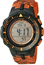 Casio Pro Trek Men's Solar Triple Sensor Camo Resin Band 42mm Watch PRG300CM-4CR