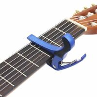 Quick Change Grain Clamp Key Capo Spring Accessory for Acoustic Electric Guitar