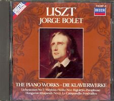 LISZT - Hungarian Rhapsody / Liebestraum / Mephisto Waltz etc - Jorge BOLET  PDO
