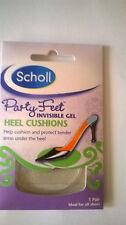 SCHOLL Party Feet Ultra Slim Heel Gel Pad Transparent