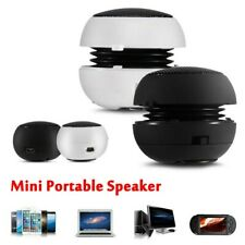 Portable Stereo Speaker 3.5mm Wired Music Player Fit for Mobile Phone PC MP3