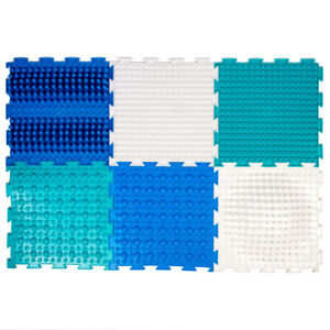Children's Orthopedic Rug Mats. Set of 6 Pads ORTODON MODULAR FLOOR COVERING