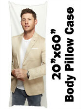 "Jensen Ackles Bed Body Pillowcase Pillow Case Cover 20""x60"""