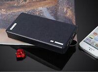 ★TheQ★ Power Bank PB02 externer Akku 20000mAh USB Schwarz für iPhone Samsung LG
