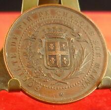 Médaille Chalons sur Marne Blason 48 Régiment d'infanterie Medal 勋章