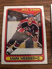 1990 Topps Mark Messier All Star 193 NHL Ice Hockey