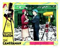 OLD MOVIE PHOTO The Cameraman Lobby Card Marceline Day Buster Keaton 1928