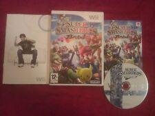 NINTENDO Wii SUPER SMASHBROS BRAWL DISC ONLY PAL UK