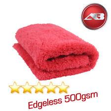 Edgeless Microfibre 500gsm Soft Aqua Deluxe Drying Towel Car Detailing Car Wax