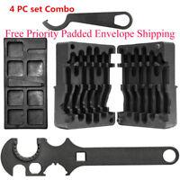 HOT!!! 4 Pc Combo 223/556 Upper & Lower Vise Block & Wrench Armorer's Tool Kit