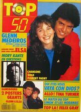 Top 50 n°111 - 1988 - Poster Gainsbourg et Glenn & Elsa - Mory Kante - T Turner